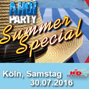 AHOI-Party Summer-Special 30.07.2016