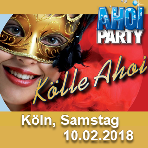 AHOI-Party Kölle AHOI 10.02.2018