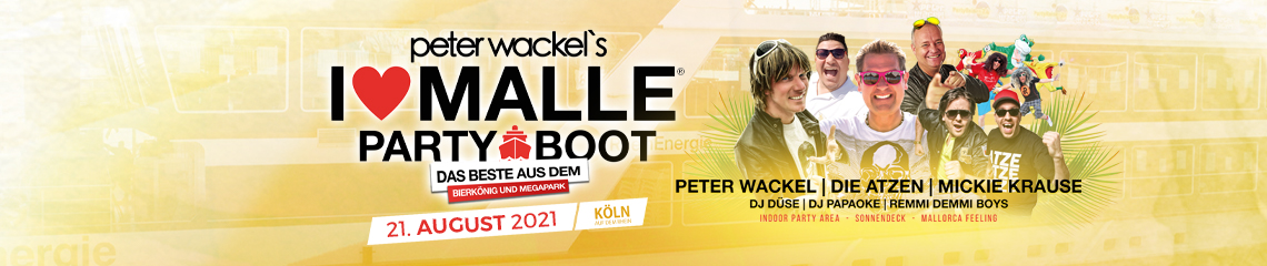 I love Malle Partyboot Köln 21.08.2021