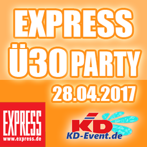 Express-Ü30-Party 24.04.2017 Köln