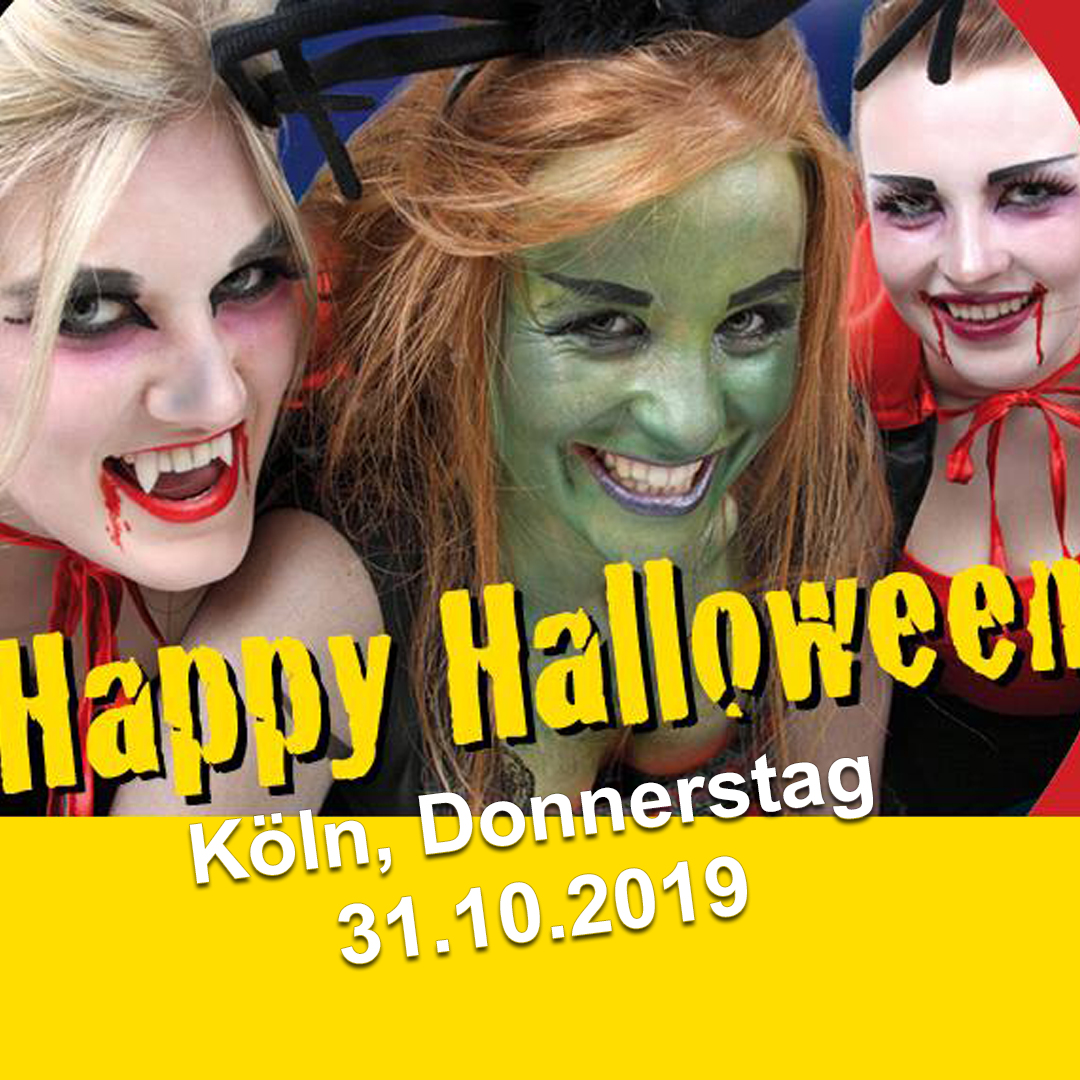 AHOI-Party Happy Halloween 31.10.2019 Köln