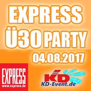 Express-Ü30-Party 04.08.2017 Köln