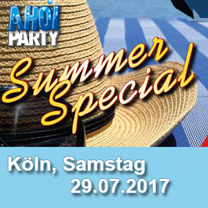 AHOI-Party Summer Special 29.07.2017 Köln