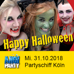 AHOI-Party Happy Halloween 31.10.2018 Köln