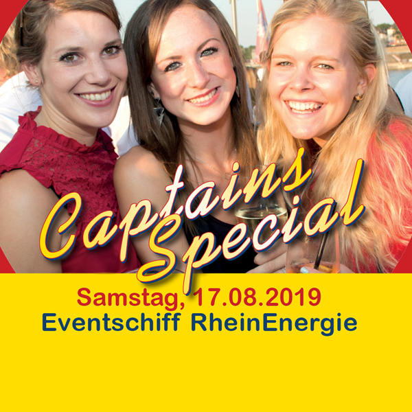 AHOI-Party Captains Special 17.08.2019 ab Köln