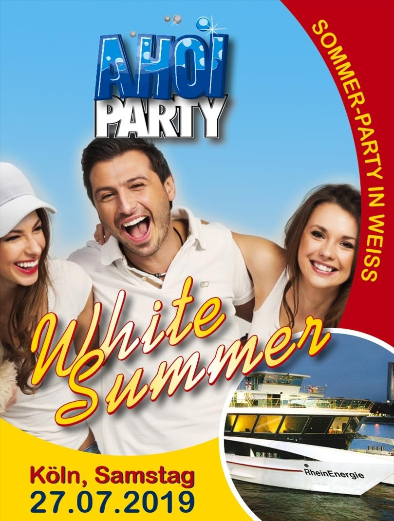 AHOI-Party White Summer 27.07.2019